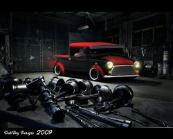 Mini Oldskool Truck by Dub-Boy