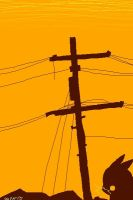 my Electric Pole by AppleLove