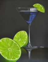 Blue Martini by georgeayers2000