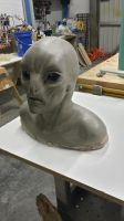Grey Alien Mask Commission by Shyailu