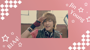 B1A4 Jin-Young by scarletwilight