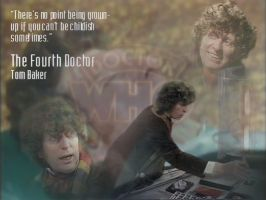 Fourth Doctor - Wallpaper by Silvacat5