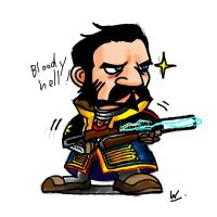 Sir Galahad from the order 1886 by kcgallery