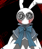 Will of Abyss rabbit form Colored by CodeDeath
