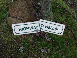 Highway to Hell by Baby-Simi
