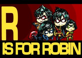 R is for robin by C2ii