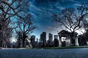 Fitzroy Gardens HDR by makobsan