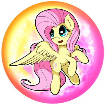 Fluttershy Orb by flamevulture17