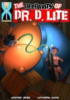 The Depravity of Dr. D. Lite 2 - Meet Elastic Lass by expansion-fan-comics