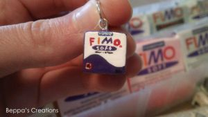 FIMOsoft Charm made from FIMOsoft by BeppasCreations