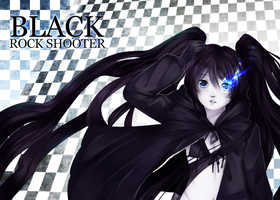 Black Rock Shooter by Tuliblu