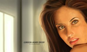 Green And Deep by williansart
