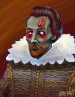 Zombie Shakespeare by chrismoet