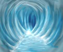 Ice cave speedpaint by Lmih