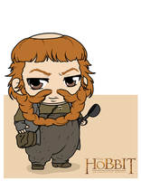 The Hobbit - Bombur by Mibu-no-ookami
