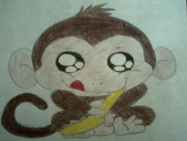 Monkey by Tinkerbell0522