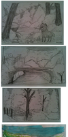 Meghan Attempts Landscapes by foxtribe