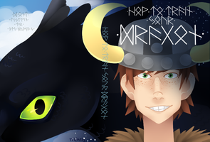 HTTYD DVD cover by KisTithen