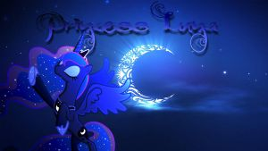 Princess Luna Wallpaper by Macgrubor