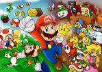 Super Mario Wallpaper by SuperLakitu