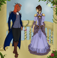 Beauty and the Beast: Contest by LoveEqualsArt