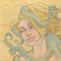 The Octopus Mermaid Series, 8 by khallion