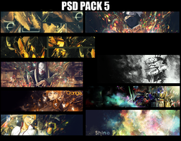 PSD Pack 5 by kakashi0hatake