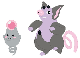 Spoink and Grumpig Base