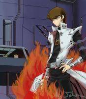 Kaiba: The Fire of Battle by AsjJohnson