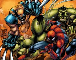 Joe Madureira rules color by logicfun