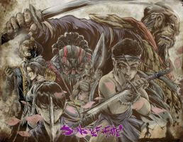 Sons of Fate ( Origins) Print  COLORED by jpdeshong