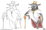 The Sheep King by Akysi