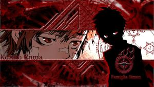 Kozato Enma Wallpaper... by GadSh21