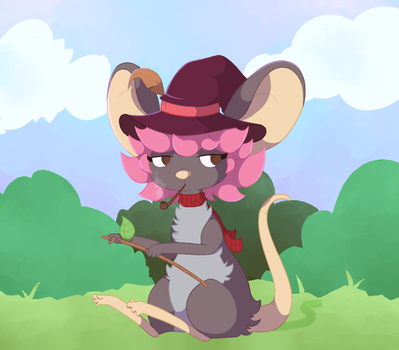 Mouser by Jawrdayn