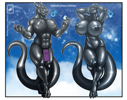 Inflatable Dragon sibilings fully finished by wsache007