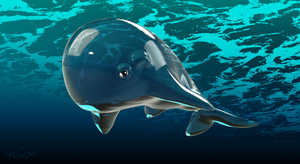 ToonWhale by-SEspiderProductions by SEspider