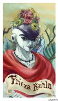 Frieza Kahlo by hollarity
