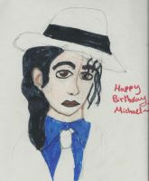 Michael Jackson's Birthday 2012 by karutimburtonfan