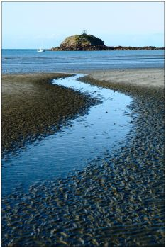 Orchid Rock at low tide by wildplaces