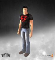 Hero Toon Superboy by 6and6
