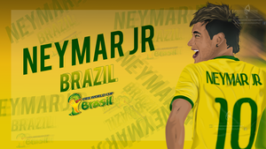 Neymar  Wallpaper by brkydesign