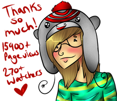 Thank You All! by KillerStalkerPerson