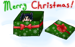 Merry Christmas MikiQT by AshAngel899
