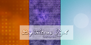 3 Slightly-Big Textures Pack by KristenLane