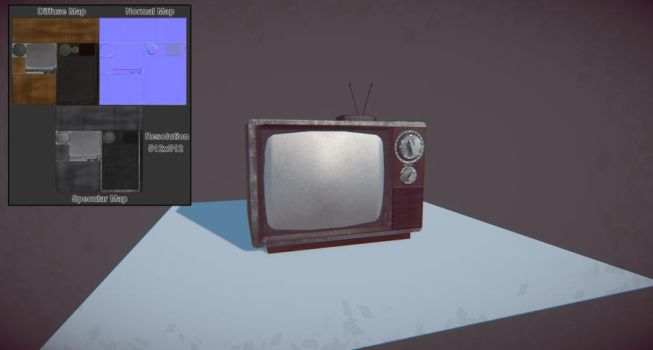 Old TV Set by ShapeshifterFX