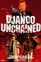 Django Unchained movie poster by DComp