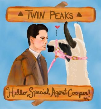 Hello, Special Agent Cooper! by ResidentofBoxFive