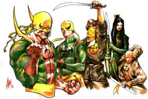 iron fist : legacy by aangrafis