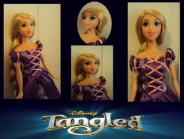 Lots of Tangled Barbie by dyb