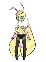 Moth Girl OC: Opal by ZekroRaptor